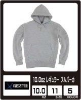 【cross stitch】クロススティッチ 10.0oz P/Oパーカ(パイル)