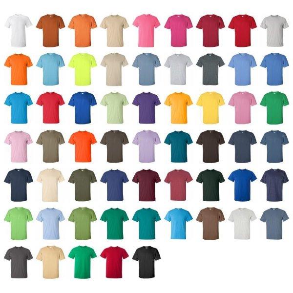 画像5:  【GILDAN】ギルダン|6.0oz ウルトラコットン Tシャツ
