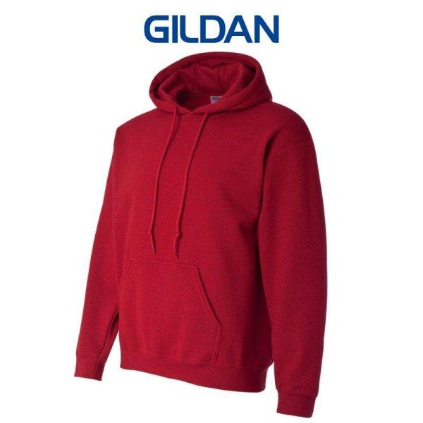 画像3:  【GILDAN】ギルダン|8.0oz P/Oパーカ(裏起毛)