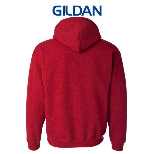 画像2:  【GILDAN】ギルダン|8.0oz P/Oパーカ(裏起毛)
