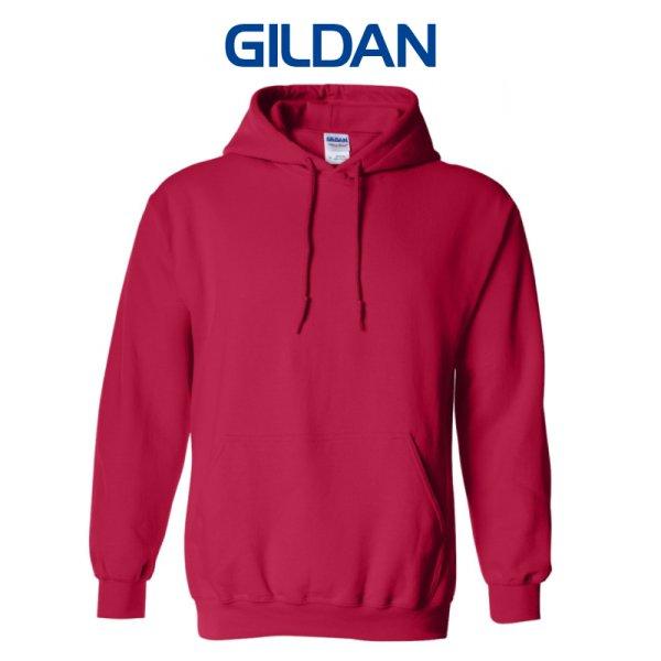 画像1:  【GILDAN】ギルダン|8.0oz P/Oパーカ(裏起毛)