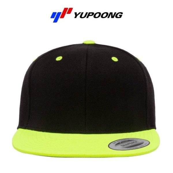 画像2: 【YUPOONG】ユーポン 6パネル クラシックスナップバックキャップ(2トーン)