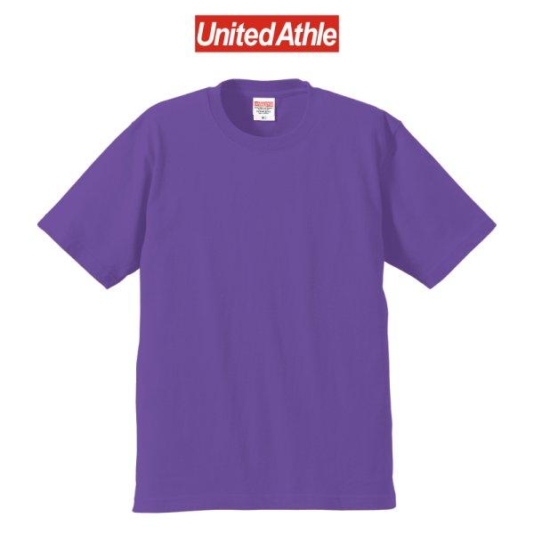 画像1: 【United Athle】ユナイテッドアスレ 6.2オンス プレミアム Tシャツ