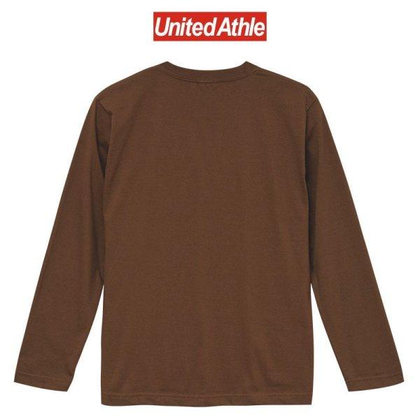 画像2: 【United Athle】ユナイテッドアスレ|5.6オンス ロングスリーブ Tシャツ(リブ無し)