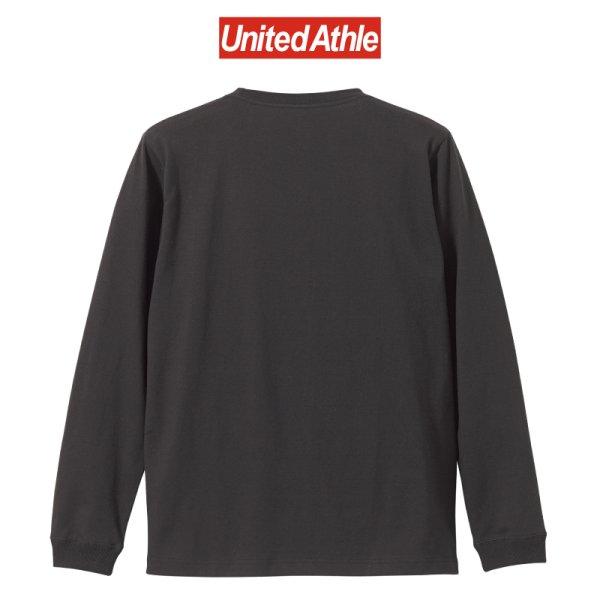 画像2: 【United Athle】ユナイテッドアスレ   5.6オンス ロングスリーブ Tシャツ (1.6インチリブ)