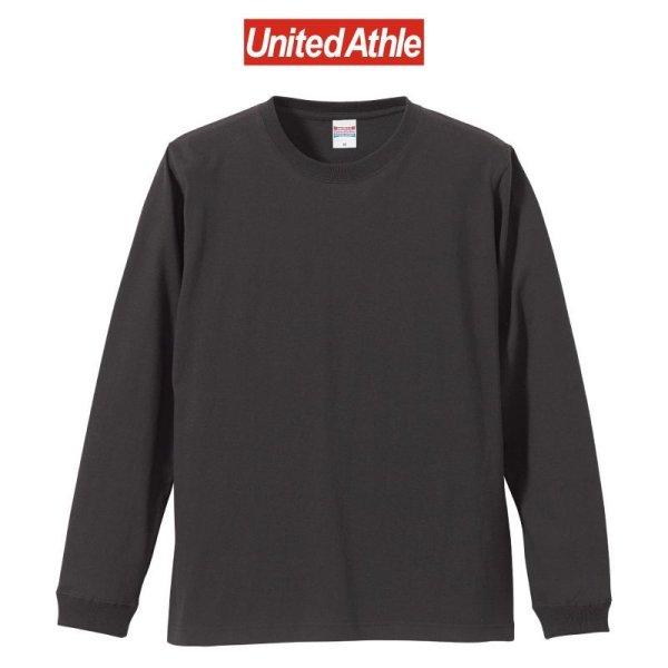 画像1: 【United Athle】ユナイテッドアスレ   5.6オンス ロングスリーブ Tシャツ (1.6インチリブ)