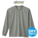 【glimmer】グリマー|4.4オンス ドライロングスリーブTシャツ