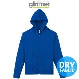 【glimmer】グリマー|4.4オンス ドライジップパーカー