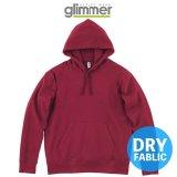 【glimmer】グリマー|10.0オンス ドライ裏フリースパーカー (裏起毛)