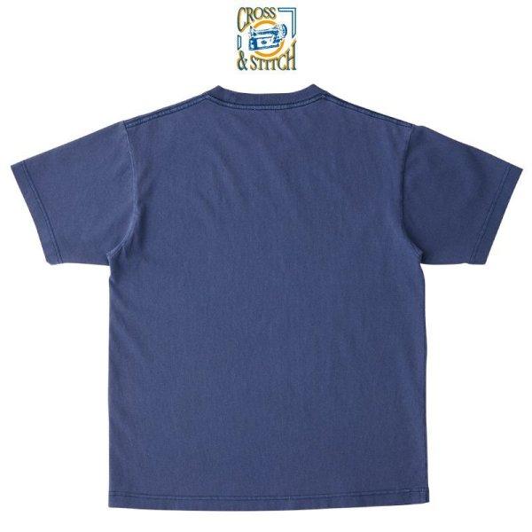 画像2: 【CROSS STITCH】クロススティッチ 6.2oz ピグメントTシャツ