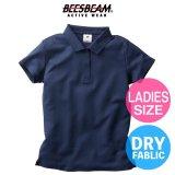 【BEES BEAM】ビーズビーム 4.3oz アクティブポロシャツ (レディースサイズ)