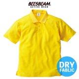 【BEES BEAM】ビーズビーム 4.3oz アクティブポロシャツ