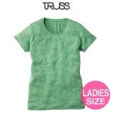 【TRUSS】トラス | 4.4oz トライブレンド ウィメンズ Tシャツ