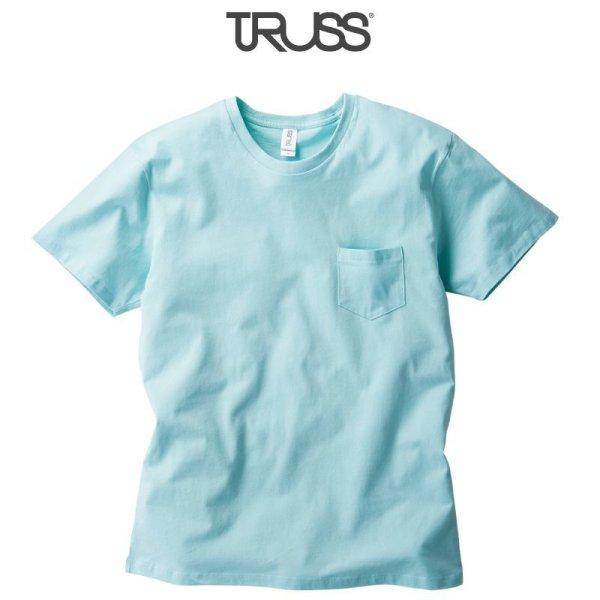 画像1: 【TRUSS】トラス | 5.0oz ポケットTシャツ
