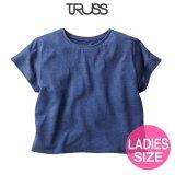 【TRUSS】トラス | 4.4oz トライブレンド ワイド Tシャツ