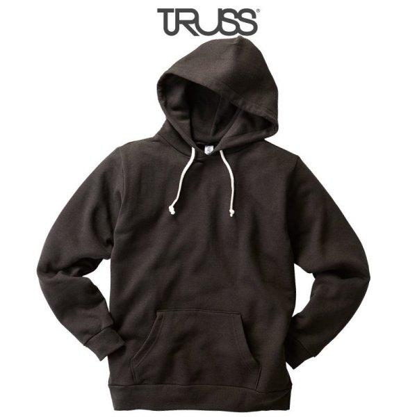 画像1: 【TRUSS】トラス | 7.1oz トライブレンド P/Oパーカ (裏起毛)