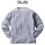 【TRUSS】トラス | 7.4oz スタンダードスウェットシャツ