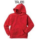 【TRUSS】トラス | 7.4oz スタンダード P/Oパーカ (裏パイル)