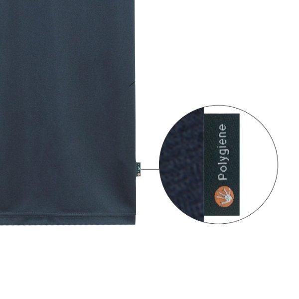 画像2: 【LIFEMAX】ライフマックス | 4.3oz ボタンダウンドライポロシャツ (ポリジン加工) (レディースサイズ)