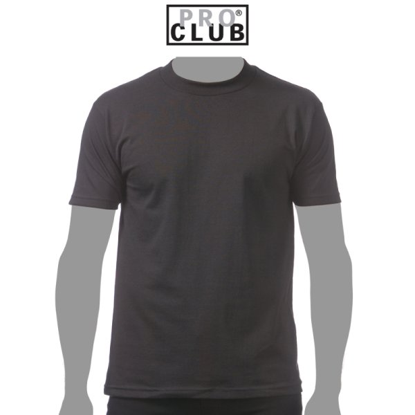 画像1: 【PRO CLUB】プロクラブ|5.8oz コンフォートTシャツ