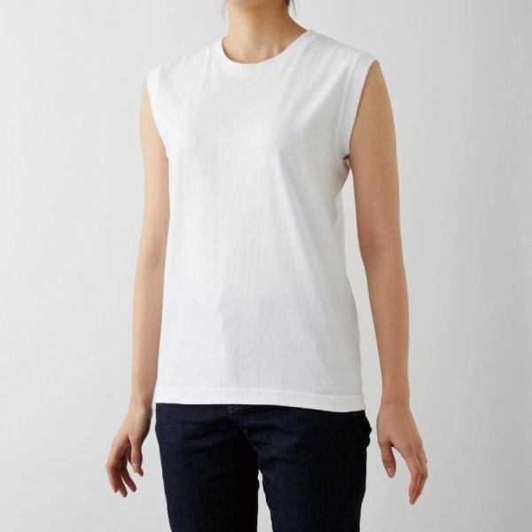 画像3: 【TRUSS】トラス | 5.3oz ウィメンズノースリーブ Tシャツ [WOS-808]