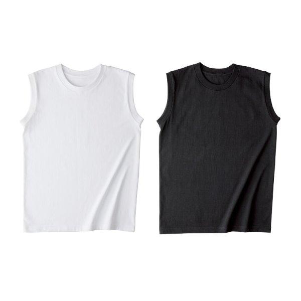 画像4: 【TRUSS】トラス | 5.3oz ウィメンズノースリーブ Tシャツ [WOS-808]