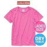 【United Athle】ユナイテッドアスレ | 4.1オンス ドライアスレチック Tシャツ 〈ウィメンズ〉